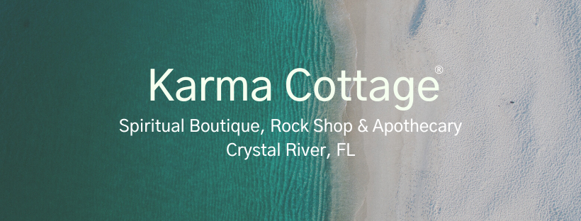 Karma Cottage is a spiritual boutique, rock shop and apothecary