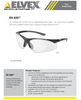 Elvex Rx-500C Safety Glasses