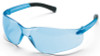 Crews Bearkat Small Safety Glasses with Light Blue Lenses