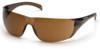 Carhartt Billings Safety Glasses with Sandstone Bronze Lens