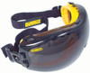 DEWALT Concealer Safety Goggles with Smoke Anti-Fog Lens DPG82-21