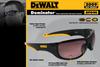DeWalt Dominator Safety Glasses with Black Frame and Indoor/Outdoor Lens DPG94-9D Key Features