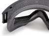 ESS Flight Deck Goggles with Clear and Smoke Gray Lenses 740-0333 Foam Closeup
