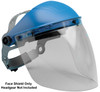 "Elvex Clear Aspherical Polycarbonate Face Shield, Anti-Fog & Anti-Static, 8"" x 16"" x 2 mm"