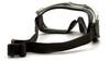 Pyramex Capstone Ballistic Safety Goggles G604T2 Inside View