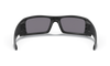 Oakley Gascan Sunglasses with Matte Black Frame and Grey Lens 03-473 Inside View