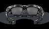 Oakley Half Jacket 2.0 XL Sunglasses with Polished Black Frame and Black Iridium Lenses OO9154-01 Inside View
