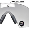 ANSI Z87.1 Lens Markings on Oakley SI Ballistic M Frame 2.0 Strike 11-139