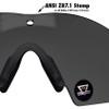 Oakley SI Ballistic M Frame 2.0 Hybrid with Black Frame and Grey Lens 11-142 Lens Markings