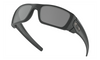 Oakley SI Cerakote Fuel Cell with Graphite Black Frame and Black Iridium Polarized Lenses OO9096-B3 Front View 1