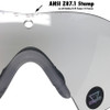 Oakley SI Ballistic M Frame 3.0 Array with Black Frame and Clear and Grey Lenses OO9146-03 Lens View