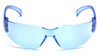 Pyramex Intruder Safety Glasses with Infinity Blue Lens S4160S Front View