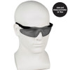 Smith & Wesson Magnum Safety Glasses with Smoke Lens 19823 worn by model 2