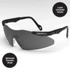 Smith & Wesson Magnum Safety Glasses with Smoke Lens 19823 front view 2