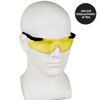 Smith & Wesson Magnum Safety Glasses with Yellow Lens 19826 worn by model 2