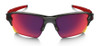 Oakley Flak Jacket 2.0 XL Sunglasses with Grey Smoke Frame and Prizm Road Lens Front