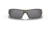 Oakley SI Gascan Sunglasses with Desolve Bare Camo Frame and Black Iridium Lens OO9014-12 Front View