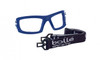 Bolle Baxter Safety Glasses with Smoke Anti-Fog Lens Foam Gasket and Elastic Strap