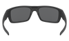 Oakley Drop Point Sunglasses with Matte Black Frame and Grey Lens OO9367-0160 Inside View