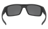 Oakley Drop Point Sunglasses with Matte Black Frame and Prizm Black Polarized Lens OO9367-0860 Inside View
