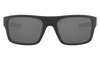 Oakley Drop Point Sunglasses with Matte Black Frame and Prizm Black Polarized Lens OO9367-0860 Front View 2