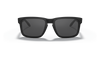 Oakley SI Holbrook Sunglasses with Matte Black Tonal USA Flag Frame and Grey Lens OO9102-E555 Front View