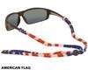 Chums Original LTD Cotton Eyewear Retainer American Flag