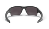 Oakley SI Flak Jacket 2.0 XL with Matte Black Frame and Prizm Grey Polarized Lens OO9188-8559 Inside View