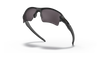 Oakley SI Flak Jacket 2.0 XL with Matte Black Frame and Prizm Grey Polarized Lens OO9188-8559 Profile View