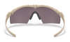 Oakley SI Ballistic M Frame 3.0 with Bone Frame and Prizm Grey Lens OO9146-3432 Inside View