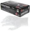 MCR SensaTouch Disposable Gloves, Clear Vinyl, Medical Grade, Powder Free, 5-Mil Box 100