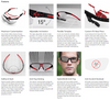 Uvex Avatar Safety Glasses with Black/Black Frame and Clear Hydroshield Anti-Fog Lens S2850HS Key Features