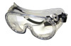 Crews Ventless Chemical Splash Goggle with Clear Anti-Fog Lens 2237R