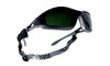 Bolle Tracker Safety Glasses Black Frame IR Shade 5 Anti-Scratch Lenses 40089