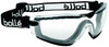 Bolle Cobra Safety Goggle with Black Strap and Clear Anti-Scratch and Anti-Fog Lens