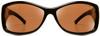Haven Balboa OTG Sunglasses with Tortoise Frame and Amber Polarized Lens - Front