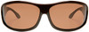 Haven Malloy OTG Sunglasses with Tortoise Frame and Amber Polarized Lens - Front