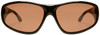 Haven Rainier OTG Sunglasses with Tortoise Frame and Amber Polarized Lens - Front
