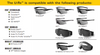 ESS/Oakley URx Prescription Insert Compatibility Chart