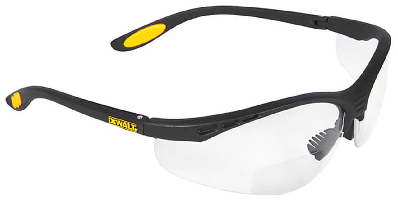bf59a25227 DeWalt Reinforcer Bifocal Safety Glasses with Clear Lens
