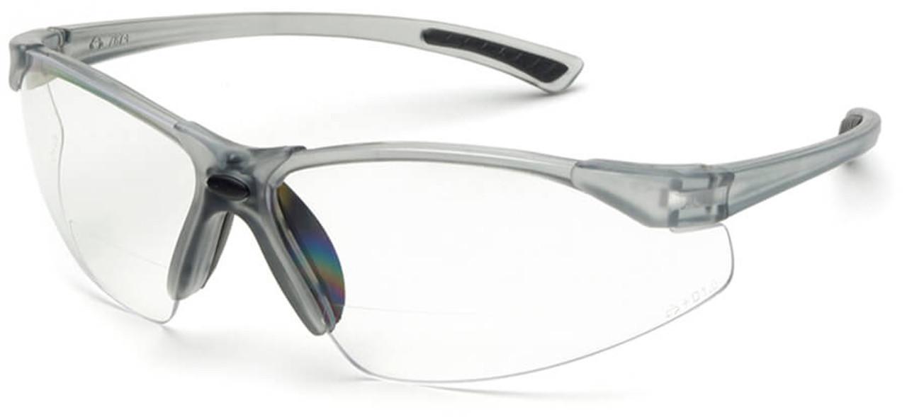 fa3b075f0f Elvex Rx-200 Bifocal Safety Glasses Clear Lens