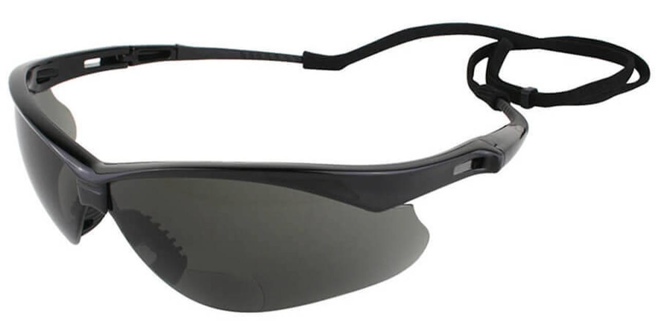 Jackson Nemesis Rx Bifocal Safety Glasses With Smoke Lens 82ab5fbd60