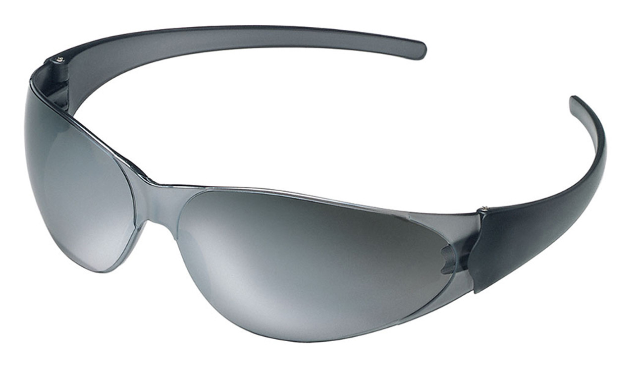 8f8cab3296e Crews Checkmate Safety Glasses with Silver Mirror Lens