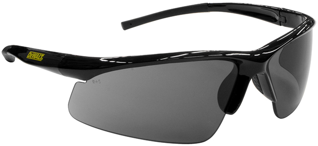 6c1d8ec659b DeWalt Radius Safety Glasses with Smoke Lens