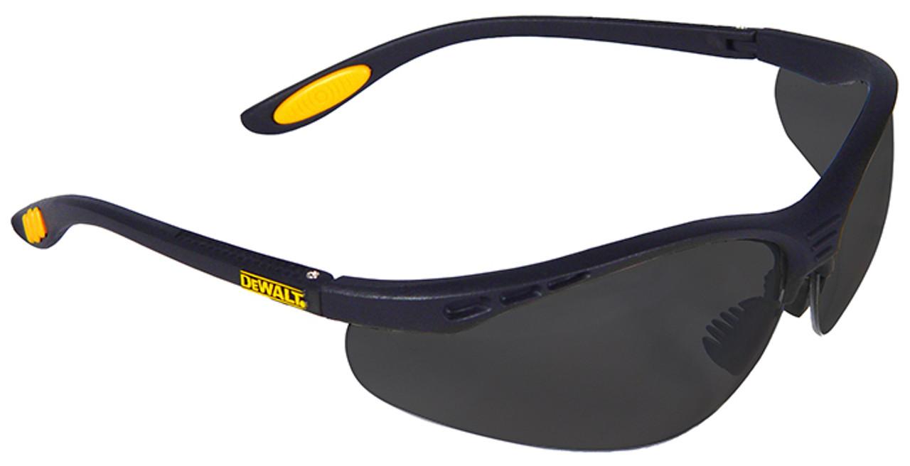 814a8c70b5f DeWalt Reinforcer Safety Glasses with Smoke Lens