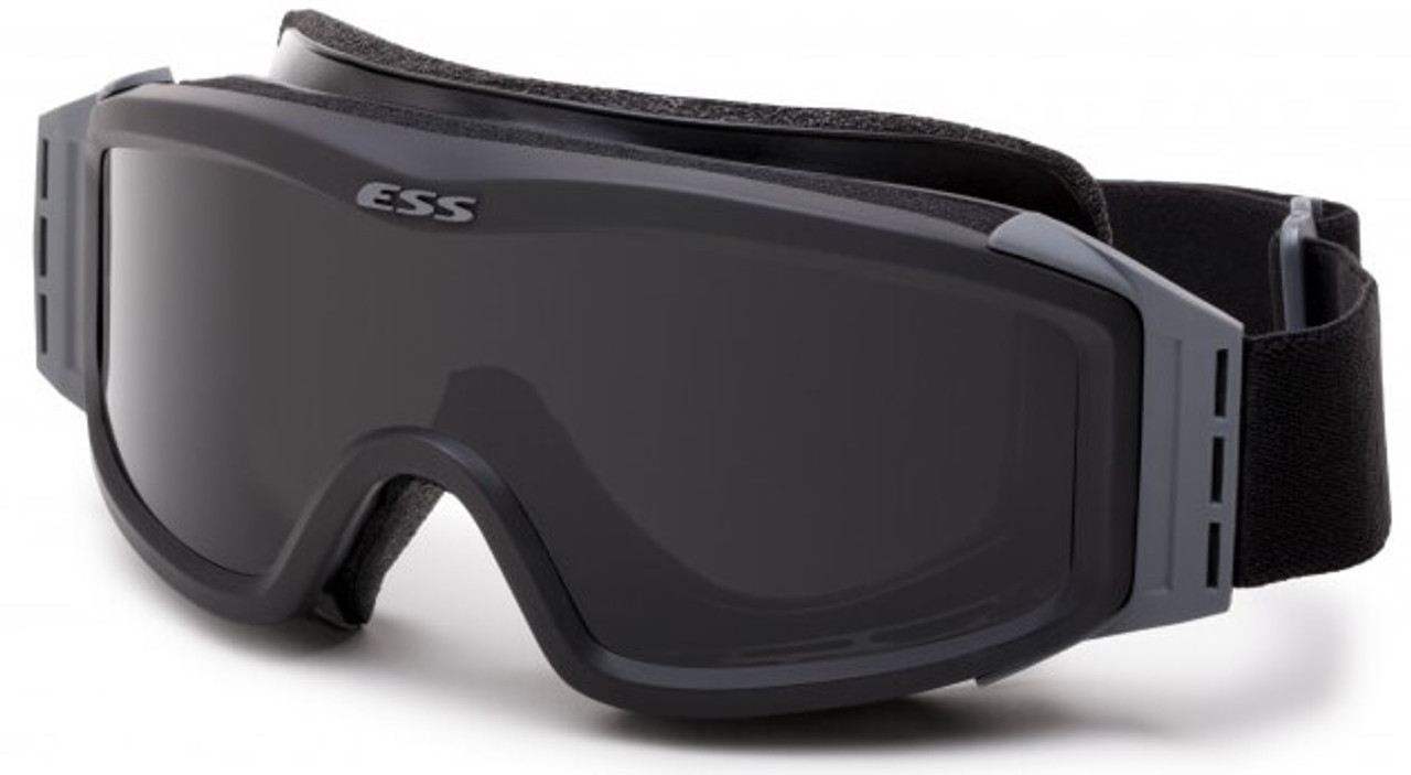 1c4231e933 ESS Profile NVG Goggles Black with Clear and Gray Lenses and Stealth Sleeve  740-0499
