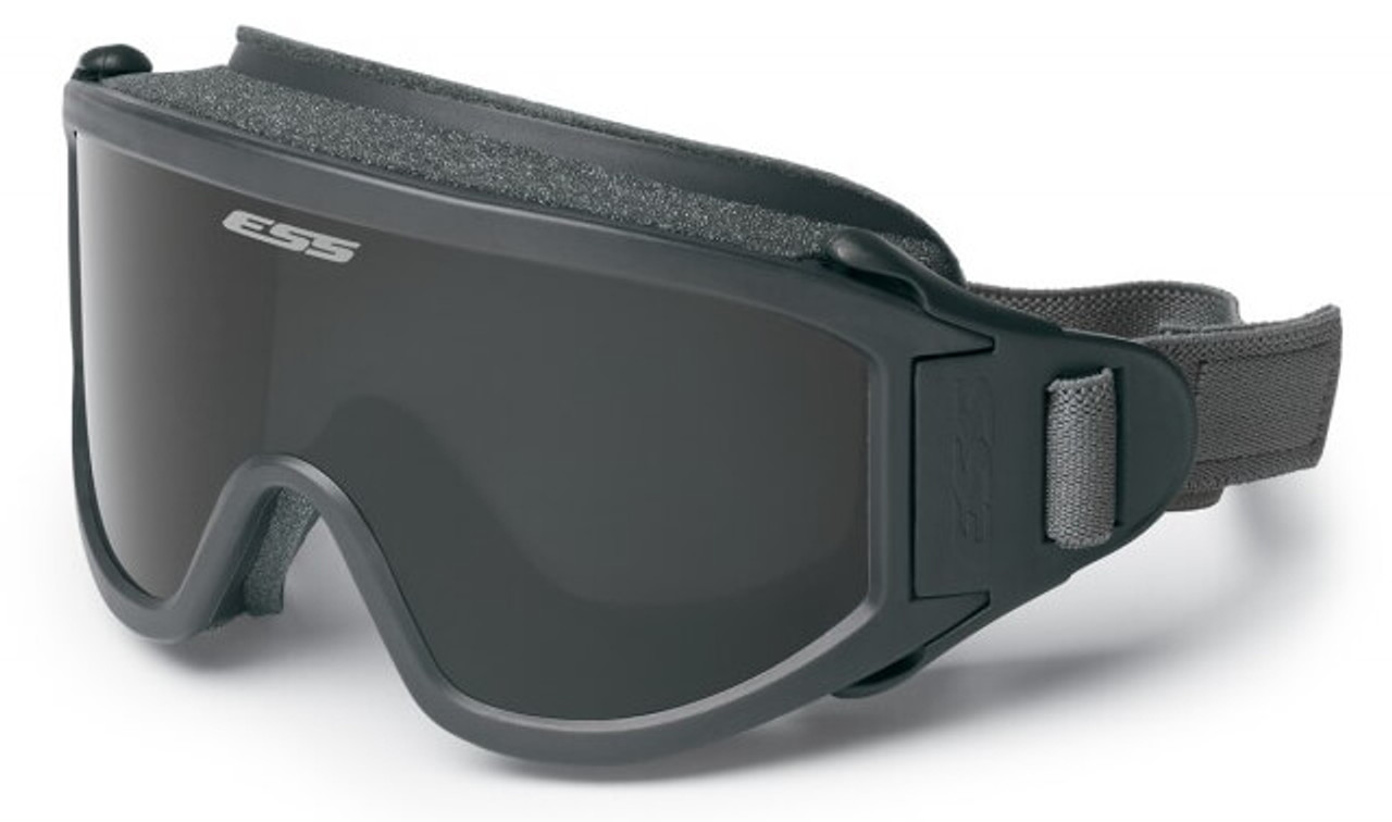 c44ac9e5ac67 ESS Flight Deck Military Goggles with Clear and Smoke Gray Lens