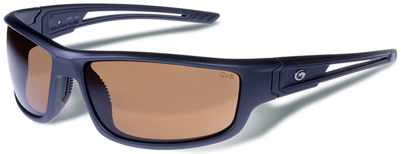 65490b9d725 Gargoyles Squall Safety Sunglasses with Matte Graphite Metallic Frame and  Brown Lens - Safety Glasses USA