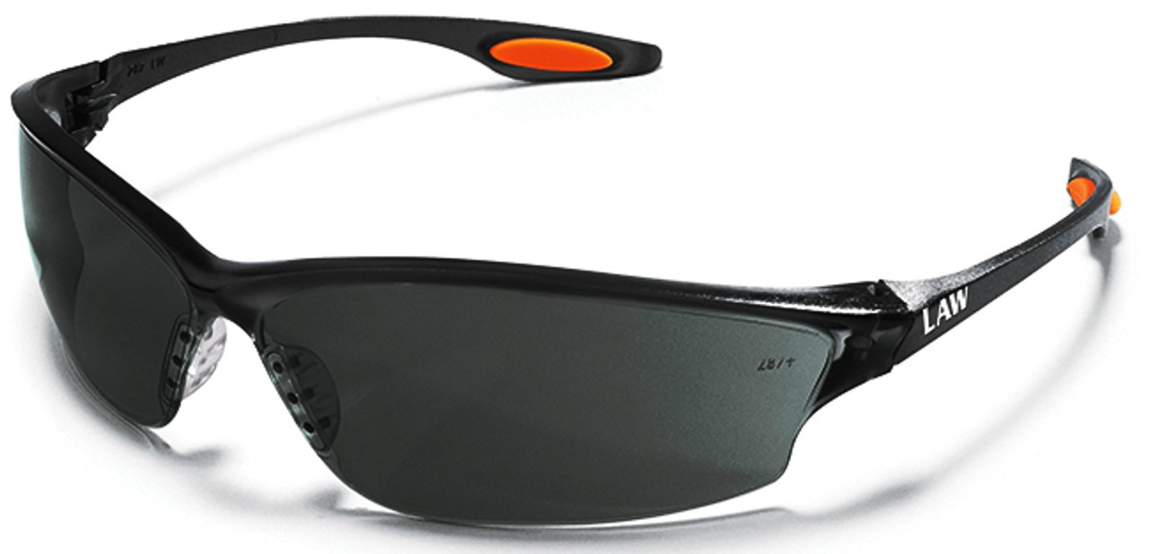 e13a932bee8 Crews Law 2 Safety Glasses Gray IR 3.0 Lens