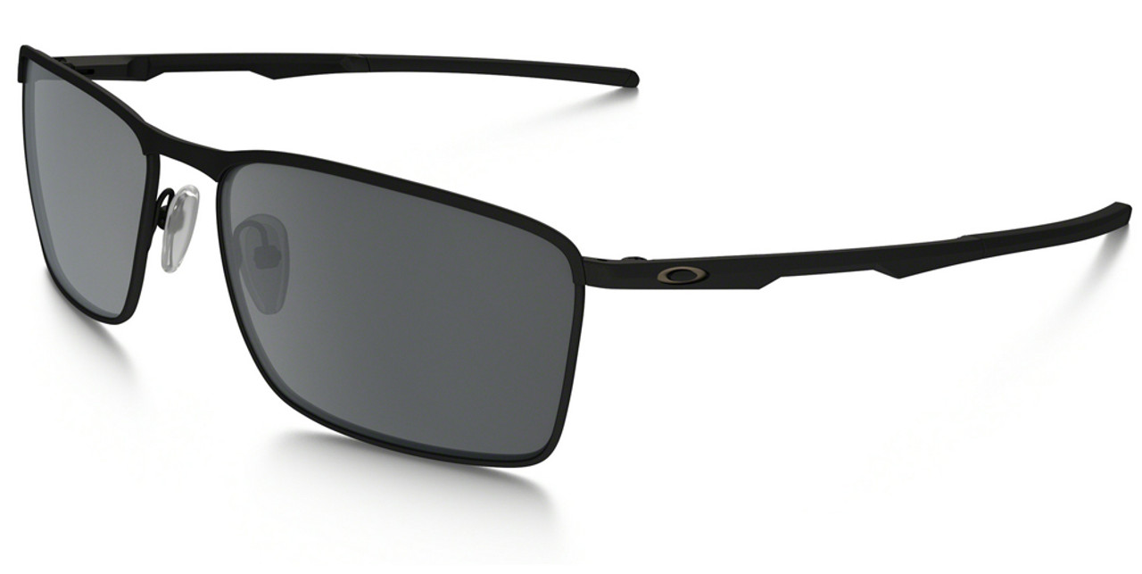 45a99b95b02 Oakley Conductor 6 Sunglasses with Matte Black Frame and Black Iridium Lens  - Safety Glasses USA